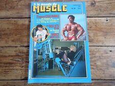 REVUE LE MONDE DU MUSCLE N°36 1982  CULTURISME GOLD'S GYM MIKE MENTZER