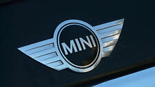 Mini Cooper Badge Logo Front bonnet Hood metal sticker Countryman Paceman Cabrio