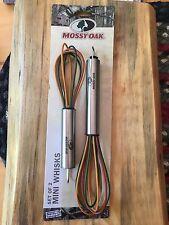 New Mossy Oak Camo Orange Green Brown Mini Whisks Set Of 2 Lodge Cabin 🥚 Eggs