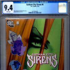 PRIMO:  GOTHAM CITY SIRENS #8 NM 9.4 CGC 2010 HARLEY QUINN DC movie comics lot