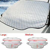 Magnetic Car Wind Shield Snow Cover Winter Ice Frost Guard Sun Shade Protector !