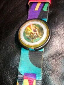Vintage ladies swatch wrist watch.