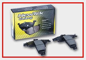 Disc Brake Pad Set-Galaxy Ceramic Disc Pads Front NewTek SCD530