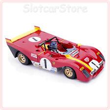 "SRC 03202 Ferrari 312PB ""No.1 J.Ickx"" Monza 1972 1:32 Slotcar Auto analog OSC"