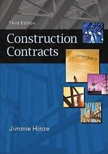 """""""Construction Contracts by Hinze, Jimmie """""""