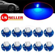 10x Blue T4/T4.2 Neo-Wedge LED Bulb Dash HVAC Heater Climate Controls Lights