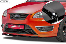 SPLITTER FRONT LIP BLACK GLOSS FRONT BUMPER FOR FORD FOCUS ST MK2 05-07 CSL135-G