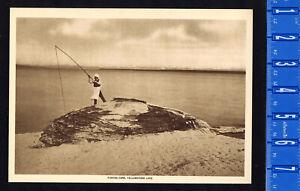 FISHING CONE, YELLOWSTONE NATIONAL PARK 1915 Mentor Gravure