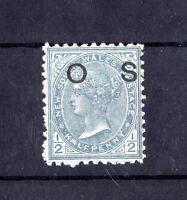 Australia QV 1890/92 1/2d OS Mint Gum X6485