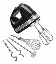 KitchenAid KHM926OB 9-Speed Digital Hand Mixer with Turbo Beater II Accessori...