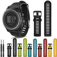 Sport Armbänder Armband Strap 26mm Watch Band Silikon For Garmin Fenix 3 HR