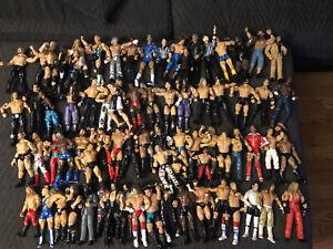 WWE JAKKS WRESTLING FIGURE LOT 70 WRESTLING FIGURES JAKKS CLASSIC FIGURES WWF