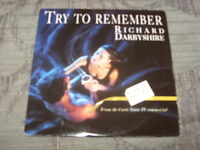 Richard Darbyshire: Try To Remember    1 track promo CD Single   NM