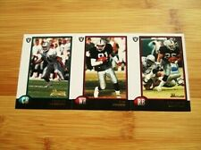 1998 Bowman Oakland Raiders TEAM SET (12) Charles Woodson ROOKIE