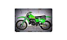 1979 kx125 Bike Motorcycle A4 Photo Poster