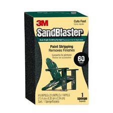 3m SandBlaster - spugna abrasiva grana P60 doppio angolo per togliere (g8d)