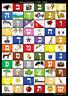 Hebrew Alphabet Chart : Hebrew Alphabet Poster