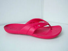 Crocs kadee flip Sandalen dunkles pink  W 10  40 41  thongs sandals raspberry