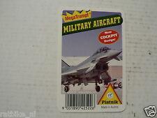 44-AIRPLANES MILTARY 0 FRONTCARD PIATNIK EUROFIGHTER 2000 KWARTET KAART,QUARTETT