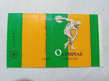 1960s Japan memorial Empty cigarette hard mini pack -70 mm-Olympias