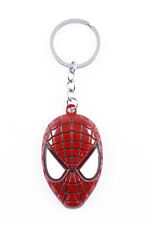 Spiderman Logo Quality Metal Keyring Silver Key Ring Car Keys
