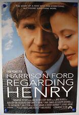 REGARDING HENRY US ONE SHEET FILM POSTER