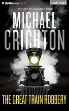 THE GREAT TRAIN ROBBERY unabridged audio book on CD by MICHAEL CRICHTON