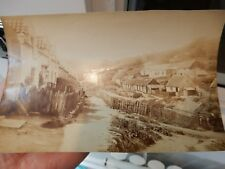 SANDSEND  1880 ERA ORIGINAL PHOTO 13 X 20 CM   SUPER DETAIL  SEPIA