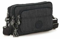 kipling Peppery Eyes Wide Open Multiple Small Crossbody Tasche Active Denim