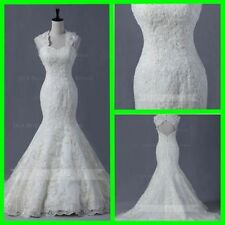 Organza Mermaid & Trumpet Wedding Regular Size Dresses