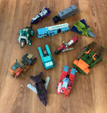 Lot of G1 Vintage Hasbro Transformers Dinobot Space Shuttle Jeep More