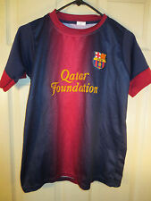 FCB Lionel Messi #10 Soccer Football FC Barcelona Youth Jersey Size XL