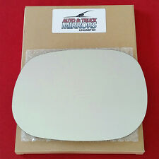 NEW Mirror Glass + ADHESIVE DODGE TRUCK VAN SUV Driver Left Side ***FAST SHIP***