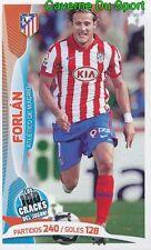 032 FORLAN URUGUAY ATLETICO STICKER 100 CRACKS DEL JUGON 2005-2014 PANINI
