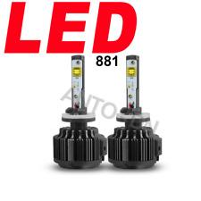 2X Lamp LED Fog Light Bulb Super White S High Power Driving Car Light 881