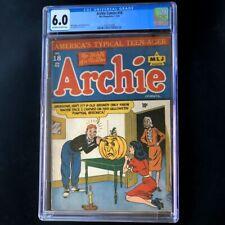 Archie Comics #18 (1946) 💥 CGC 6.0 💥 Halloween Cover Rare Golden Age MLJ Comic