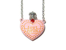 HARRY POTTER AMORTENTIA LOVE POTION PINK ENAMEL PENDANT NECKLACE BEST DETAIL
