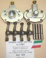 Honda CB160/175 sloper Cappellini Moto #169 cam supports + modified rocker arms