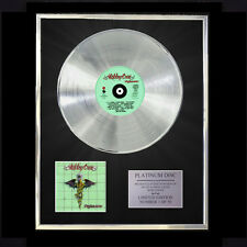 MOTLEY CRUE DR FEELGOOD CD PLATINUM DISC LP FREE P+P!