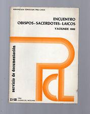 encuentro obispos-sacerdostes.laicos - yaounde 1982 -