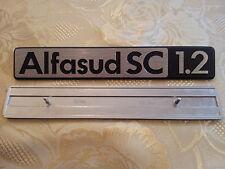 sigla ALFASUD SC 1.2 alfa romeo scritta posteriore fregio originale rear sign