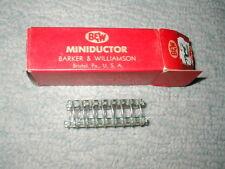 "B & W BARKER WILLIAMSON 3005 MINIDUCTOR AIR INDUCTOR 2"" LONG 5/8"" DIAM 4 T.P.I."