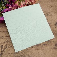 mini flower Embossing folders Plastic Embossing Folder For Scrapbooking card SP
