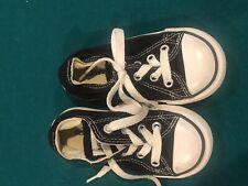 converse Shoes Child Size 6 Black