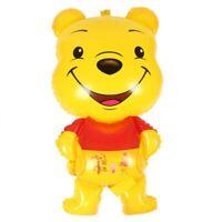 Large Winnie The Pooh Bear Foil Balloons Cartoon Children Happy Birthday Decor