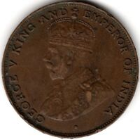 1925 Hong Kong George V One Cent***Collectors***