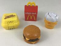 McDonalds Changeables Transformer Toy Cone Nuggets Quarter Pounder Vintage 1990