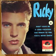 RICKY NELSON don't leave me
