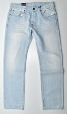 G-Star Raw Jeans-attacc straight-light aged w32 l32 nuevo!!!