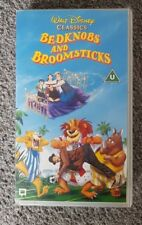 Walt Disney Classics Bedknobs and Broomsticks VHS Tape